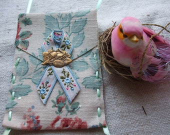 Ornament Collection 9 Wreath Bird Gift Card Holder Nest