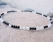 SALE, Agate & Crystal Necklace