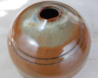 Round Brownstone Bottle