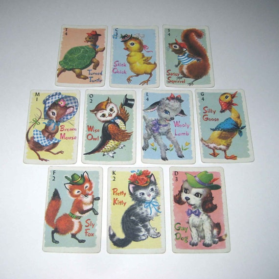 how to play animal rummy
