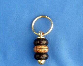 Multi-Wood Key Chain - Hand Turned
