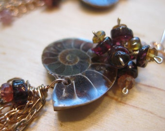 Insouciant Studios Nautique Ammonite Earrings