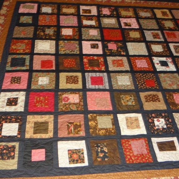 1800 Reproduction Fabric King Size Quilt