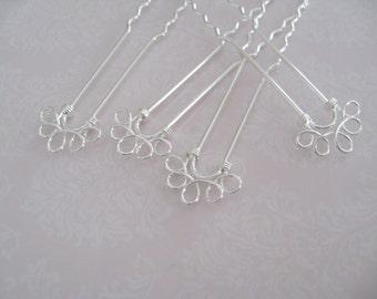 Hair Pins Findings Bridal Accessories Bridesamaids Hair Pins