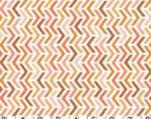 Les Amis Fabric  by Patty Sloniger Michael Miller Peach Ripples 1 Yard