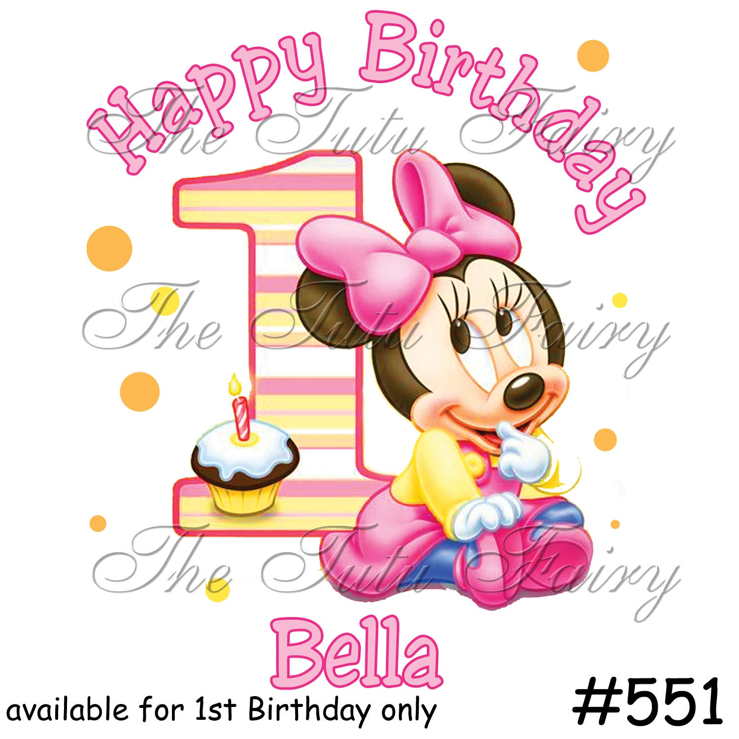 Baby Minnie Mouse 1st Birthday Images Baby Minnie Mouse 1st Birthday