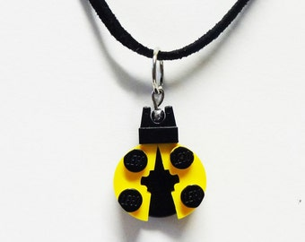 Mini Yellow Ladybug Necklace