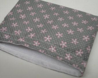 Purple Pinwheels Reusable Snack Bag Ready to Ship