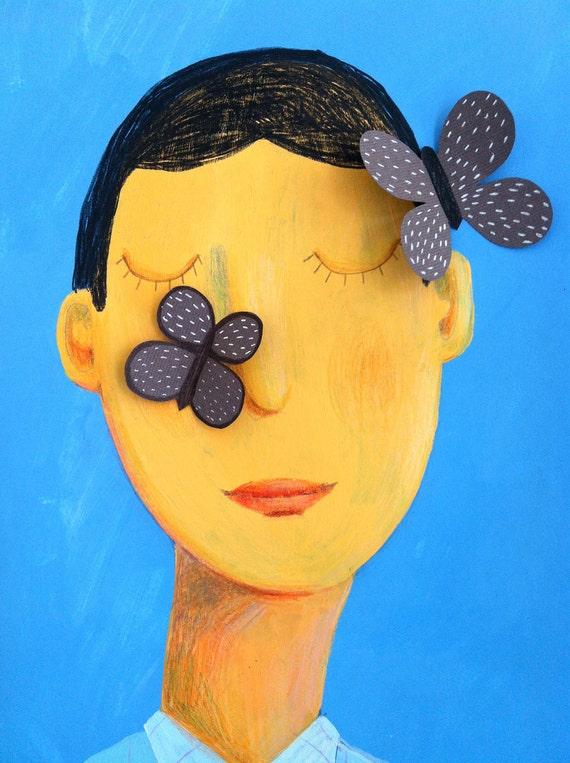butterflies   original illustration