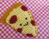 pizza slice amigurumi SALE