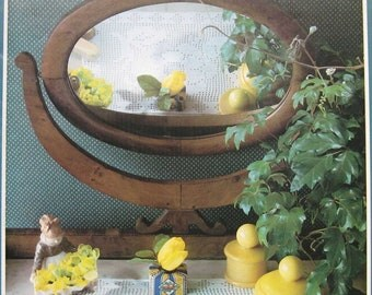 Vintage Pingouin Crochet Table Mats Pattern Book