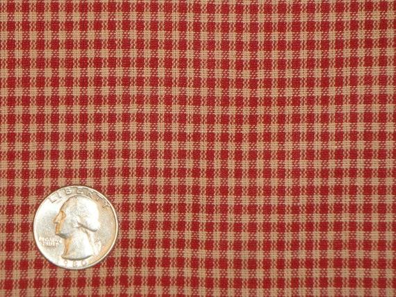 Small Check Fabric