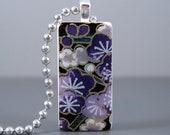 SALE Secret Garden - A Mini Domino Necklace in a Tin