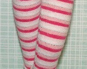 Shades Of Pink Striped Tights For Blythe...One Pair Per Listing...