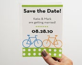 Small Bicycle Save the Date Cards