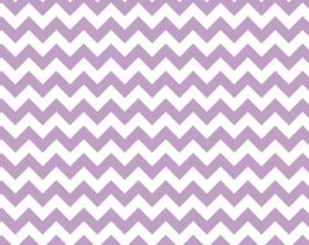 Riley Blake Chevron Lavendar Fabric, 1 yard