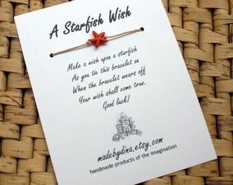 A Starfish Summer Wish Bracelet LIMITED EDITION