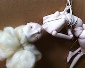 Kinbaku Doll, OOAK BJD, RESERVED for  Delphine Kaufmann