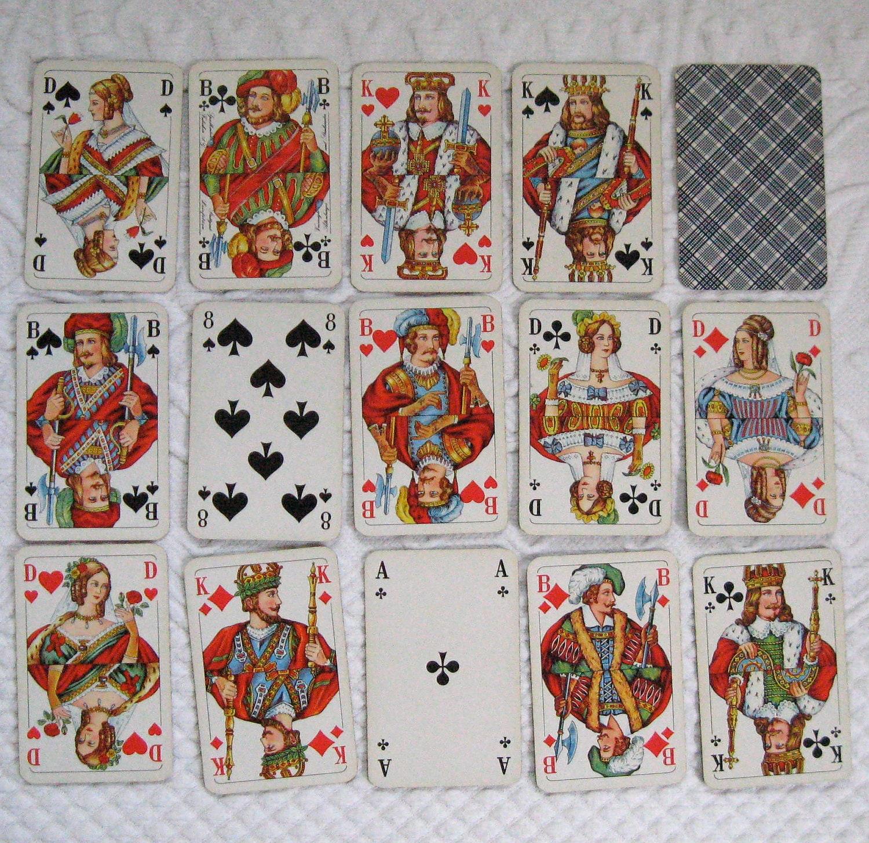 vintage german playing cards by altenburg