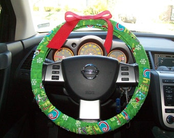 Christmas Steering Wheel Cover