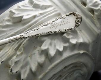 Bettie Engraved Victoria Sugar Spoon by Rogers ca 1895