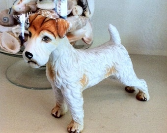 Airedale or Wire Fox Terrier Figure