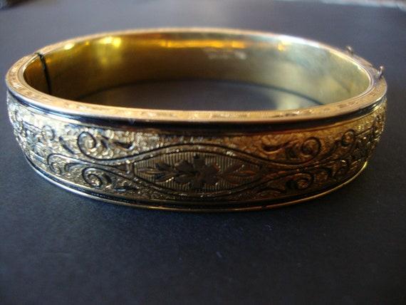 Vintage T&D 10 Karat Gold Fill Bracelet
