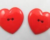2 Heart Beat Buttons