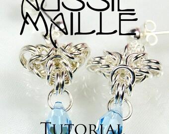 Chainmaille Tutorial - Tripoli Drops Earrings