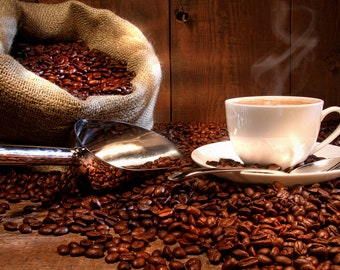 Coffee Vanilla Hazelnut Flavored Coffee 4 ounces Whole Bean or Ground free