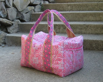 Maternity Stay or World Travel Duffle Bag Custom made for you