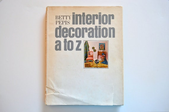 RESERVED for flattrackrevolution - Interior Decoration A to Z  (1965)