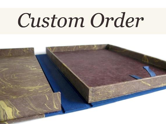 RESERVED - Custom Slipcase and Presentation Box