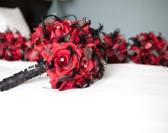 ABLAZE Wedding Bouquet