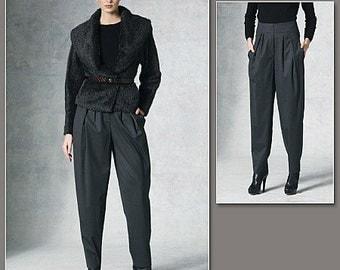 Vogue 1201 Donna Karan Jacket & Pants Pattern Sizes 6-12