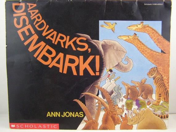 aardvarks disembark vintage children s book