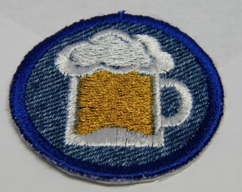 Beer  Iron on Patch / Merit Badge
