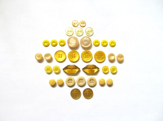 Vintage Button Sets- Sunshine Of Your Love