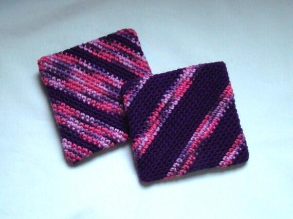 Crochet Potholders and Paracord Survival Bracelet, Custom Order for SaintInterlude