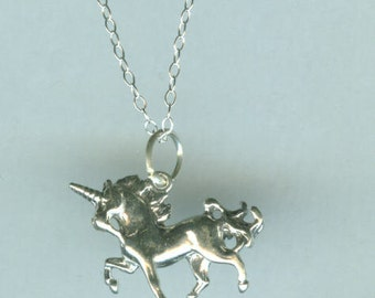 Pin Sterling Silver Unicorn Pendant On Pinterest