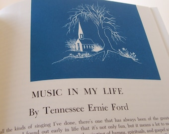 1962 Tennessee Ernie Fords Book of Favorite Hymns