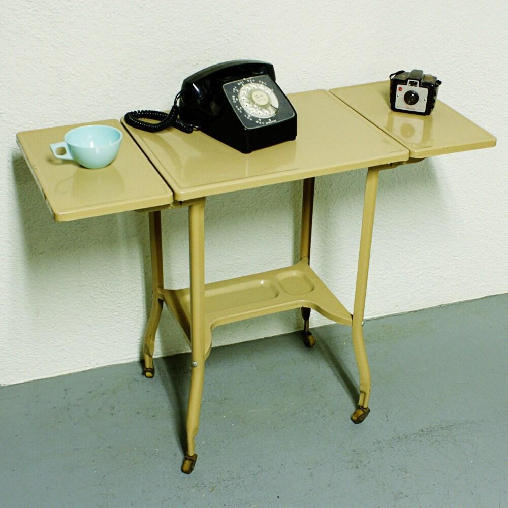 Vintage Table Stand Typewriter Table Typewriter Stand