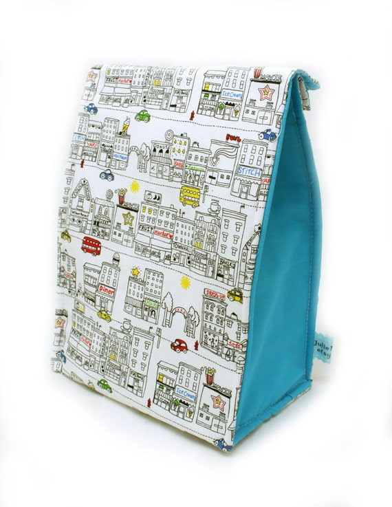 Back to School Insulated Lunch Bag