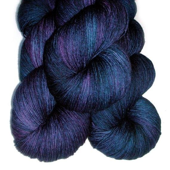 Euro Fingering SW Merino Yarn - Nightshade, 750 yards/150 grams