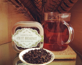 Loose Leaf 4th St. Breakfast Blend Tea Tin 2oz