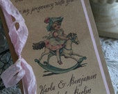 Custom Guest Book - moleskine journal - choose ribbon and theme