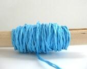 paper twine-aqua blue (5 yds)