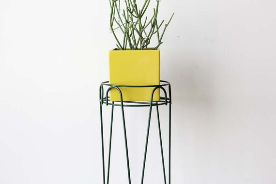 Modern Metal Hairpin Plant Stand