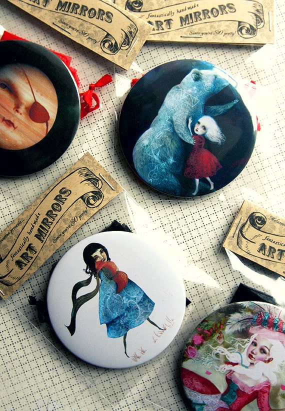 4 for 3 pocket mirrors - MIX AND MATCH