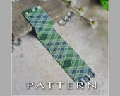 Peyote Beading Pattern : MacDonald Hunting Plaid Bracelet Cuff - Instant Download
